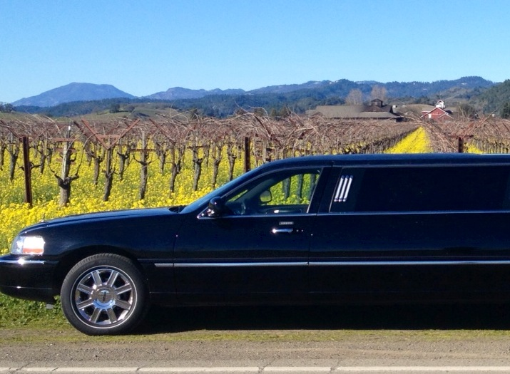 Boutique Wine Tours new limousine